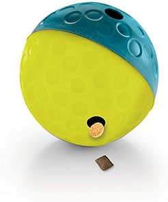 1-Outward Hound Nina Ottosson Interactive Puzzle Game Dog Toys 6-Our Pets IQ Treat Ball & IQ Treat Activity Dog Tug Toy