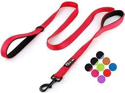 Best leash for german shepherds Primal Pet Gear Dog Leash Excellent for Both Large or Medium Dogs